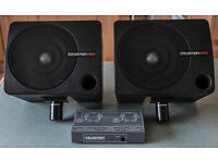 Small portable lightweight sound system that is ideal for a small music club or society