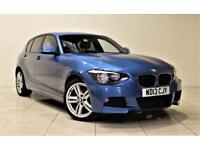 BMW 1 SERIES 2.0 120D XDRIVE M SPORT 5d 181 BHP (blue) 2013