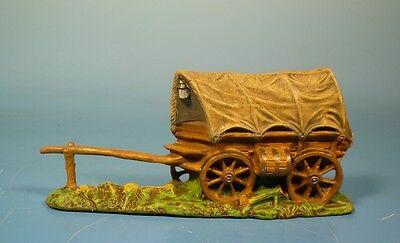 Elastolin (Lineol) Wild West – Planwagen – 7cm Serie