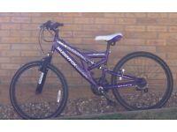 MuddyFox dual suspension bike- brand new