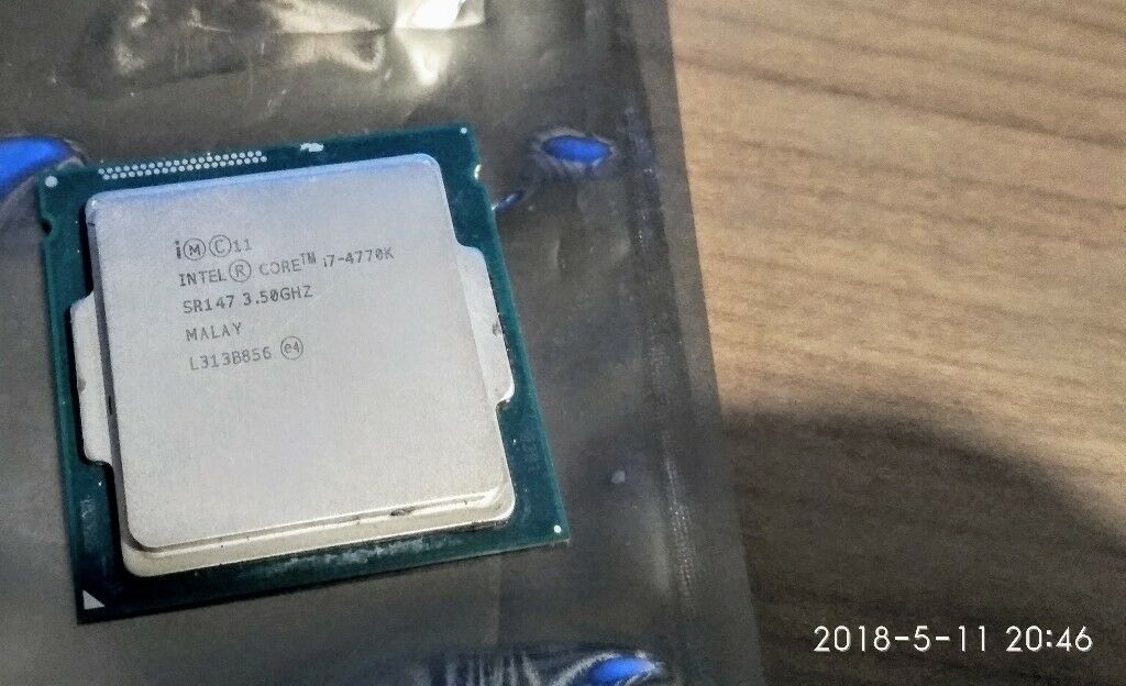 Intel i7-4770K CPU ( cpu only, no box, no cooler ) | in