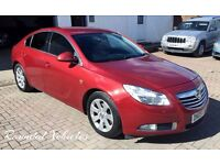 2009 Vauxhall Insignia SRI Cdti DIESEL hatch, 90k serv his metc red/ grey int Lovely car 12 mths mot