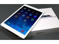 iPad Air 16gb Wi-Fi + Cellular (3G, 4G) unlocked - works with any sim - like new!