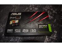 Asus GTX 670 CUII Graphics Card