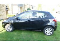 Mazda2 1.3 Black 5 Door, Manual. 1 year MOT (May 2018). **LOW MILEAGE 33,200miles. PRIVATE SALE**