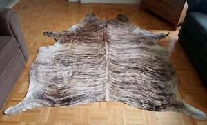 Cowhide Rug Over 50 shades in Stock Cow Hide Rugs From Brazil Very unique, rare, soft and natural.