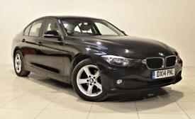BMW 3 SERIES 2.0 320D SE 4d AUTO 182 BHP + 1 PREV OWNER + SERVI (black) 2014