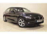 BMW 3 SERIES 2.0 320D SE 4d AUTO 182 BHP + 1 PREV OWNER + SERVI (black) 2014