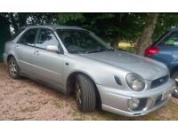 Subaru Impreza GX (2001) - 2 litre, awd, non-turbo estate for spares or repair