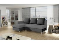 BIG SALE! BARGAIN! MODERN SOFA BED! CORNER SOFA BED, BED WITH STORAGE. CHEAP SOFA.