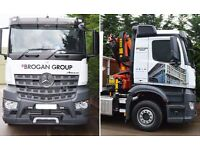 HGV CLASS 1 DRIVER THROUGHOUT BEDFORDSHIRE WITH HIAB LICENCE –required for immediate start
