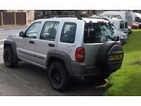 Jeep Cherokee 3.7 Sport Auto. New MOT and Low Miles