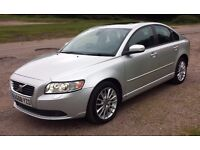 2008 Volvo S40 SE-LUX 2.0 ltr Turbo Diesel 4-Door Poss PX FSH/Electric Pack/Air Con/Alloys/Sunroof