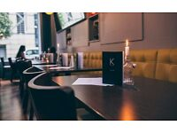Full & Part Time Waiting Staff