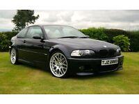 2004 BMW E46 M3 Coupe 3.2 Manual Genuine CSL Alloys FSH
