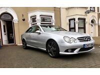 MERCEDES CLK 220 CDI SPORT AUTO AMG LOW MIL.ES 2 LADY OWNERS FROM NEW FSH