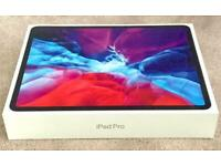 "IPAD PRO 12.9"" 2020 128gb SILVER WIFI ONLY MODEL BRAND NEW SEALED BOX & 1 YEAR WARRANTY rrp £969"