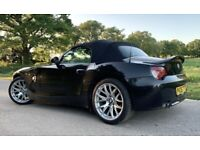 BMW Z4 3.0 si, Manual, 2006, immaculate condition, black with red leather
