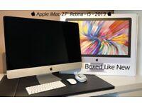 """ Apple iMac 27"""" Retina 5K 🖥 Intel i5 3.0 Ghz ⚙️ 64 GB RAM 🗄 256 GB SSD HDD 👾 4Gb Radeon 570"""