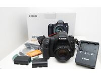 Canon EOS 6D + 50mm f1.8 lens + 2x batteries + Accessories, boxed - Well used