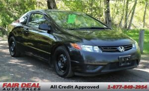 2007 Honda Civic DX-G: 5 Speed Manual/Climate Control