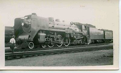 D705 Rp 1930 40S Cpr Canadian Pacific Railroad Train Royal Hudson Engine  2811