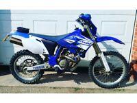 Yamaha wr450f enduro good spec yzf crf