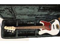 Bass Guitar Farida JTB 13 Beautiful unused Condition with Armadilo Hard Case