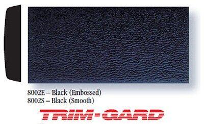 1 x 20 Roll Universal SMOOTH All Black Trim Gard Body Side Molding