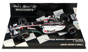Minichamps-Minardi-Cosworth-PS03-2003-Justin-Wilson-1-43-Scale