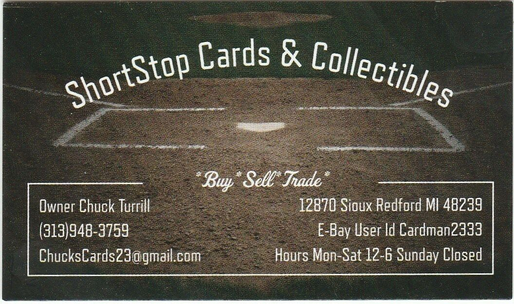ShortStop Cards and Collectibles
