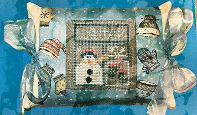 Pine Mountain Designs Tie On Winter Cross Stitch PATTERN -