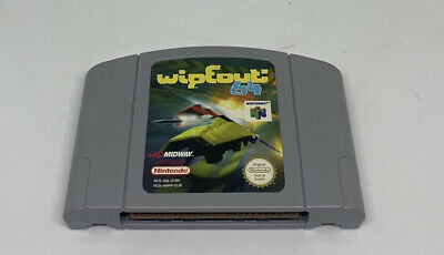 Nintendo 64 N64 Game Wipeout 64 - Cart Only - Good Condition - PAL