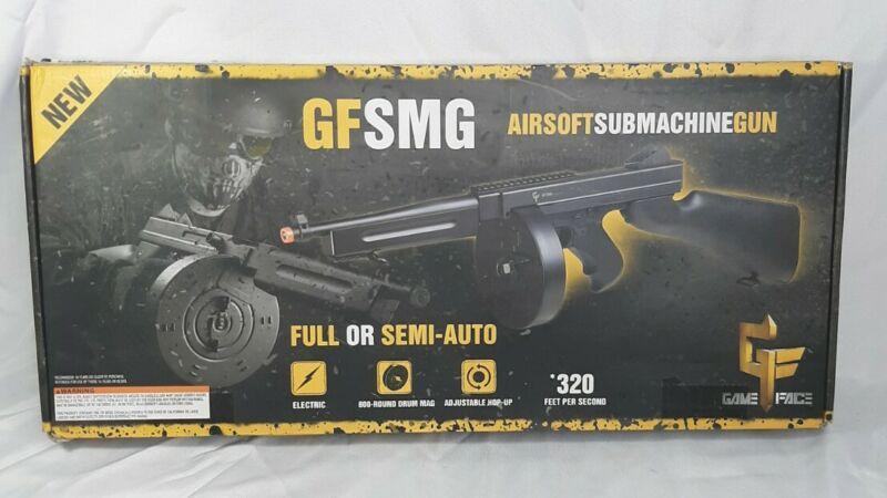 Game Face Black GFSMG 320 Feet Per Second Full Or Semi Auto Submachine Gun