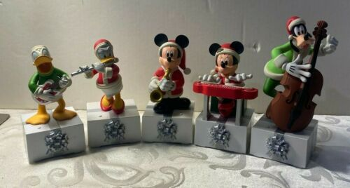 2013 Hallmark Disney Wireless BAND Set Mickey & Minnie Daisy & Donald Goofy