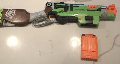 Nerf SlingFire Zombie Strike Soft Dart Bullet Gun Blaster Magazine Sling Fire