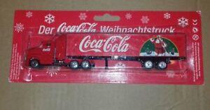 Coca Cola - Coke Lorry Truck - Father Christmas Bottle Santa Stocking Filler G3