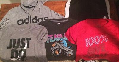 Lot of 5 Boys Nike Adidas Old Navy Carter Clothes  Sz. 6/7 Summer/Fall School