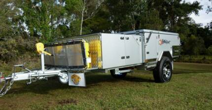 NEW FORWARD FOLDING HARD FLOOR CAMPER TRAILER SAVE $2000 Brendale Pine Rivers Area Preview