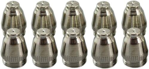 SG-55 AG-60 Plasma Cutter Consumable Nozzle 1.0mm 50Amp 10pk