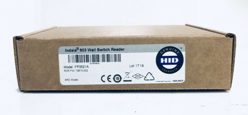 New Indala FP3521A+ 10022 FLEXPASS Card Wall Switch Reader 26Bit Wiegand HID 603