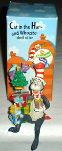 DR SEUSS CAT IN THE HAT AND WHOZITS SHELF SITTER MINT