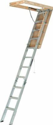 Attic Ladder Aluminum Pull Down Loft Stairs Ceiling Opening Door Heavy Duty