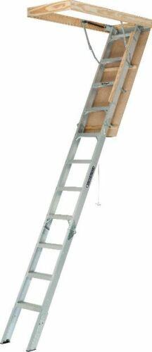 Attic Ladder Aluminum Pull Down Loft Stairs Ceiling Opening Door Heavy Duty Best