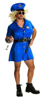 Sexy Minikleid für Herren Polizei Cop Kostüm - Sexy Polizei Kostüme Herren