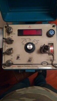 Biddle Dlro Digital Low Resistance Ohmmeter 247000-3 Test Meters Detectors