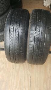 2 pneu d'ete 195 65R 15 bon etat