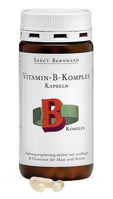 Komplex 300 Kapseln (300 Vitamin B Komplex Kapseln (2 Dosen) Sanct Bernhard, B1,B2,B3,B5,B6,B9,B12)