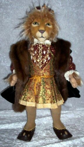 """*NEW* CLOTH ART DOLL (PAPER) PATTERN """"LIONHEART"""" BY SUZETTE RUGOLO"""