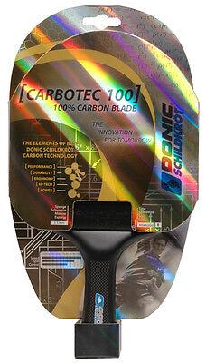@ DONIC Schildkröt Tischtennisschläger CarboTec 100 anatomisch   UVP 89,99  NEU